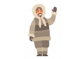 Sticker inuit