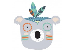 Sticker koala indien