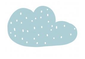 Sticker nuage bleu