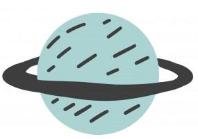 Sticker planète