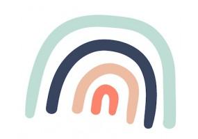 Sticker arche couleurs