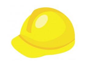 Sticker casque chantier