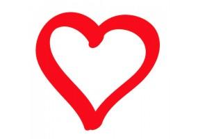 Sticker cœur