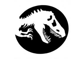 Sticker dinosaure jurassic park