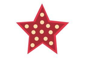 Sticker étoile motif motif