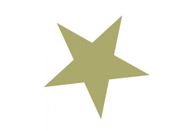 Stickers Déco étoile Dorée
