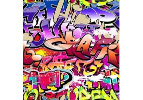 Sticker graffiti street art