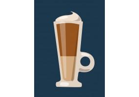 Sticker café glacé