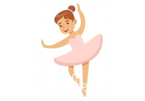 Sticker danseuse