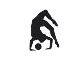 Sticker gymnaste