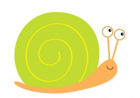 Sticker escargot