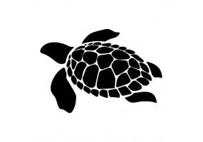 Sticker tortue mer