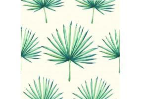 Sticker feuilles palmier