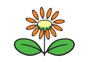 Sticker fleur