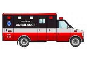 Sticker ambulance