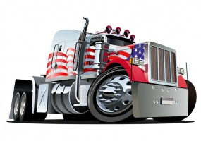 Sticker camion