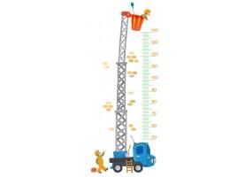 Sticker toise camion échelle
