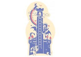 Sticker toise château