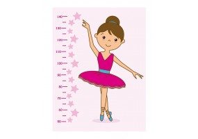 Sticker toise danseuse