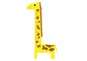 Sticker toise girafe