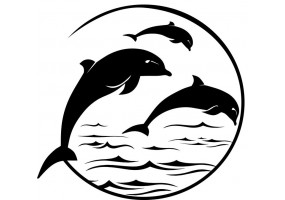 Sticker dauphins
