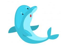 Sticker dauphin