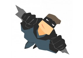 Sticker super héros Batman