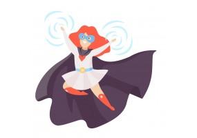 Sticker muraux super héros