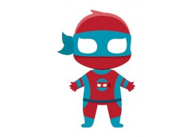 Sticker héros Deadpool