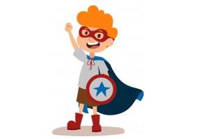 Sticker héros Captain America