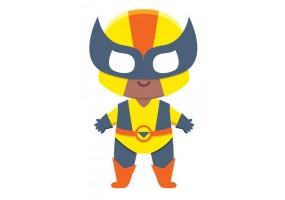 Sticker héros Xmen