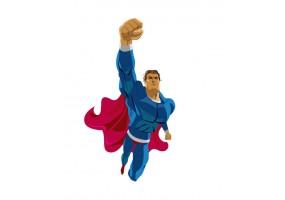 Sticker superman
