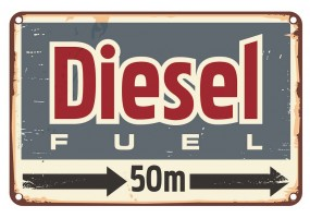 Sticker essence diesel