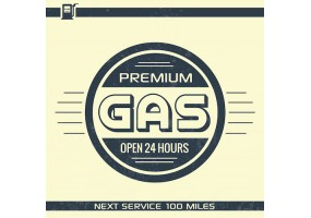 Sticker essence premium gas