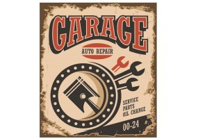Sticker essence garage