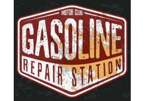 Sticker essence Gasoline