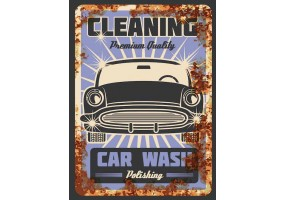 Sticker essence car wash