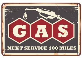 Sticker essence gas