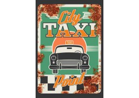 Sticker muraux essence taxi