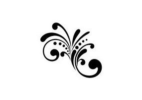 Sticker Arabesque simple