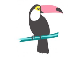 Sticker toucan