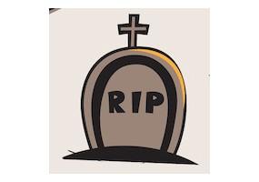 Sticker halloween RIP