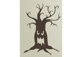 Sticker halloween effrayant