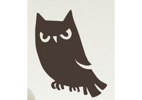 Sticker halloween hibou