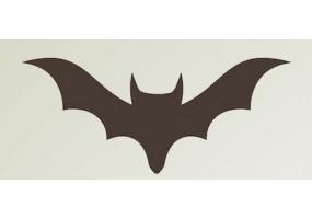 Sticker halloween chauve-souris