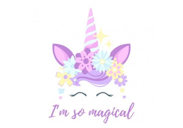 Sticker licorne magical