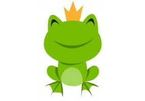 Sticker grenouille