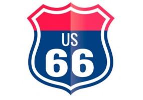 Sticker route 66