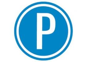 Sticker panneau signalétique