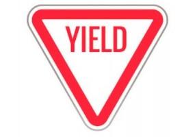 Sticker panneau signalisation